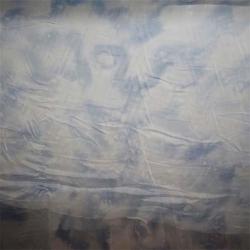 真丝大理石花纹织物